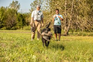 Double TT staff dog training